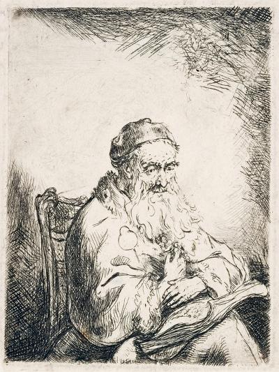 Man with Trefoil, C.1635-40-Ferdinand Bol-Giclee Print
