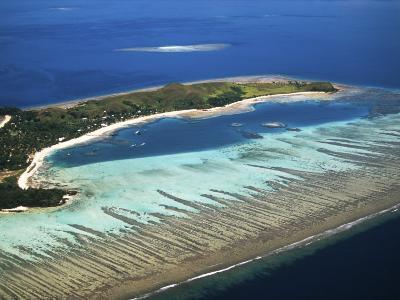 Mana Island, Mamanuca Islands, Fiji-David Wall-Photographic Print