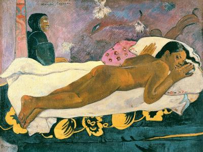 Manao Tupapau (The Spirit of the Dead Watches), 1892-Paul Gauguin-Giclee Print