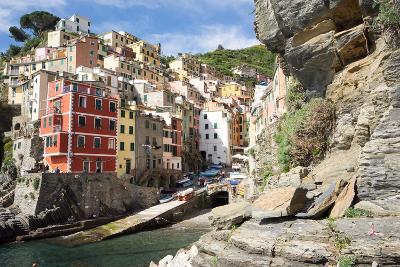 Manarola, Cinque Terre, UNESCO World Heritage Site, Liguria, Italy, Europe-Peter Groenendijk-Photographic Print