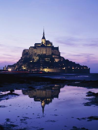 Mance Mont St Michel,Brittany,France-Design Pics Inc-Photographic Print