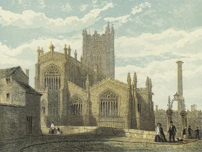 Manchester Cathedral, North East View--Giclee Print