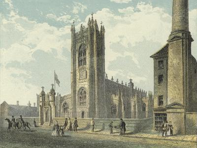 Manchester Cathedral, South West View--Giclee Print