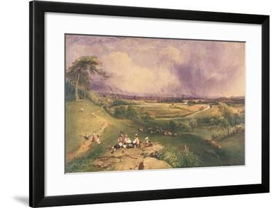 Manchester from the Cliff, Higher Broughton-William Wyld-Framed Giclee Print