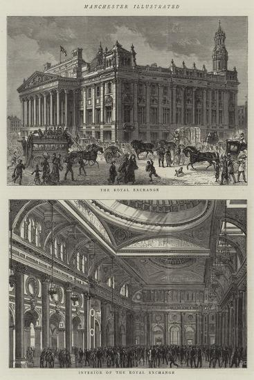 Manchester Illustrated--Giclee Print