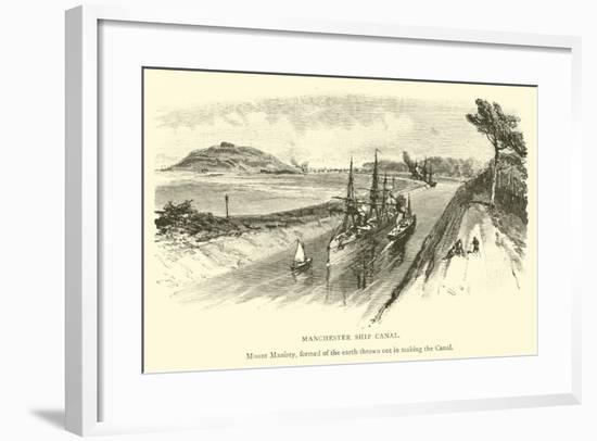 Manchester Ship Canal--Framed Giclee Print