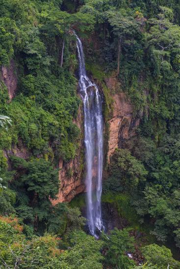 Manchewe Falls Near Livingstonia, Malawi, Africa-Michael Runkel-Photographic Print