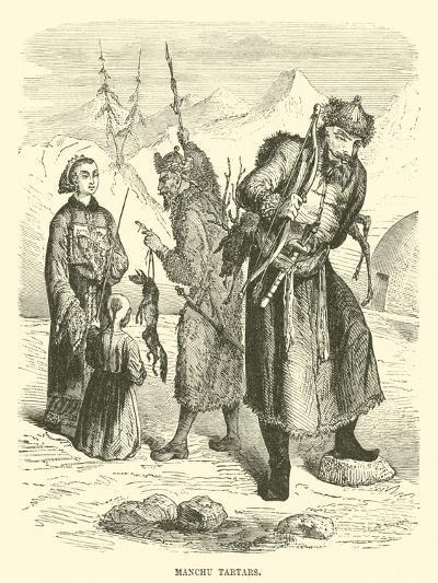 Manchu Tartars--Giclee Print