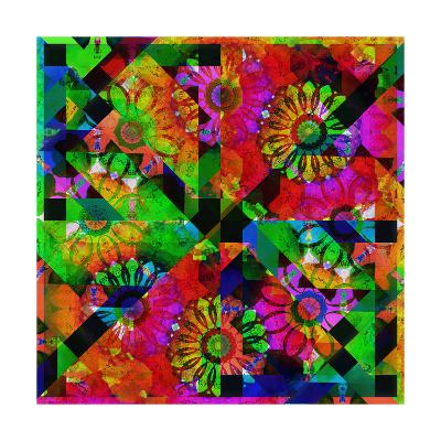 Mandala Abstract Geometric II-Alaya Gadeh-Art Print