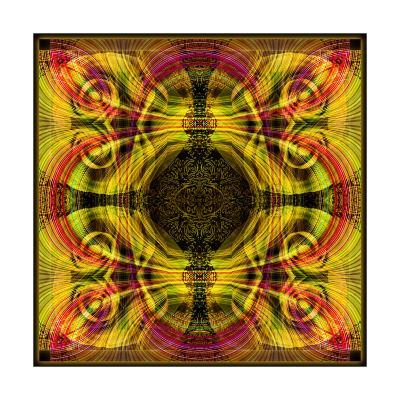 Mandala Day and Night-Alaya Gadeh-Art Print