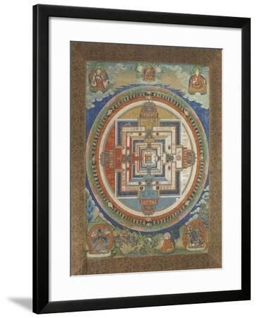 Mandala de Kâlacakra--Framed Giclee Print