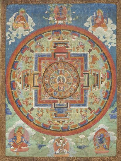 Mandala de Sitâtapatrâ--Giclee Print