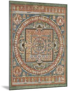 Mandala de Vairocana, sous son aspect Sarvavid