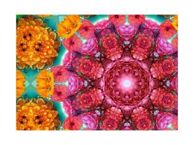 Mandala Detail No 3-Alaya Gadeh-Art Print