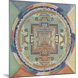 Mandala du Potala de Lhassa