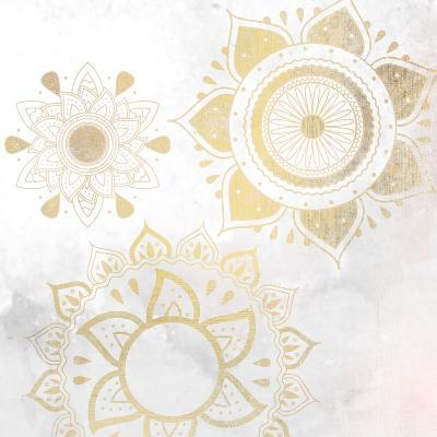 Mandala Golden 2-Kimberly Allen-Art Print