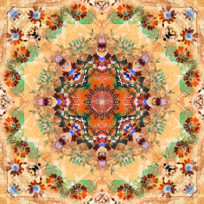 Mandala of Flower Photographies-Alaya Gadeh-Photographic Print