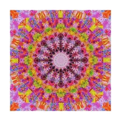 Mandala Of Happiness II-Alaya Gadeh-Art Print