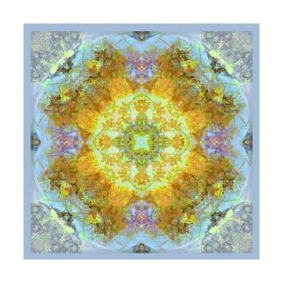 Mandala Royal Baby Blue II-Alaya Gadeh-Art Print