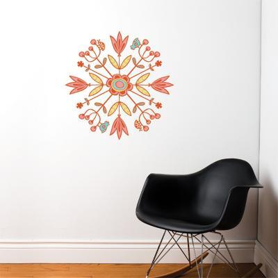 Mandala Wall Decal--Wall Decal