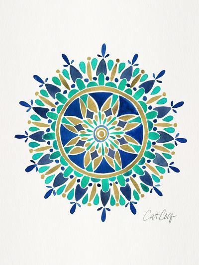 Mandala-Cat Coquillette-Art Print