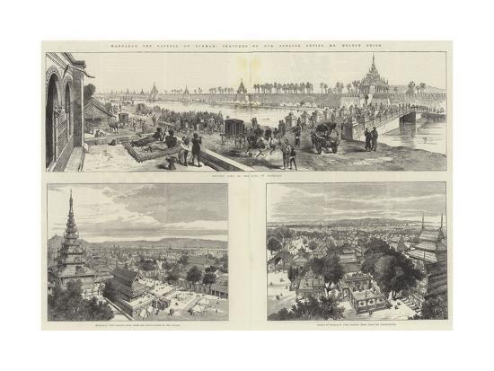 Mandalay, the Capital of Burmah-Melton Prior-Giclee Print