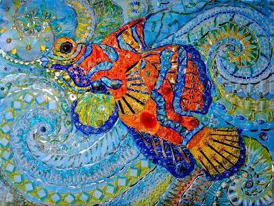 Mandarin Fish, 2013-Maylee Christie-Giclee Print