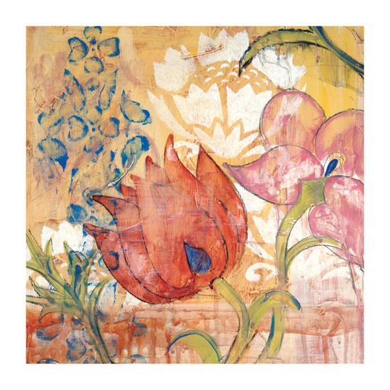 Mandarin Garden IV-Kate Birch-Giclee Print