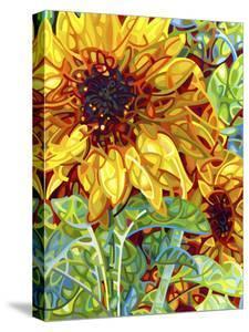 Summer in the Garden by Mandy Budan