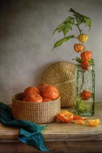 Still Life With Clementines by Mandy Disher