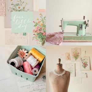 Fine Little Day for Sewing by Mandy Lynne Photography