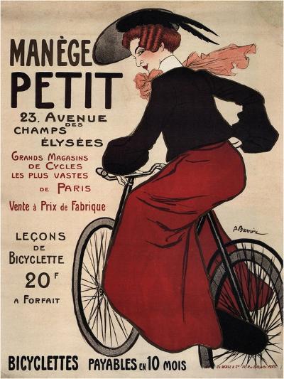 Manège Petit, 1899-Adrien Barrère-Giclee Print