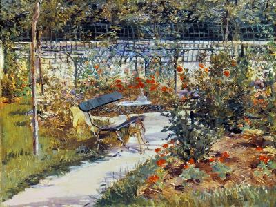 Manet: Garden, 1881-Edouard Manet-Giclee Print
