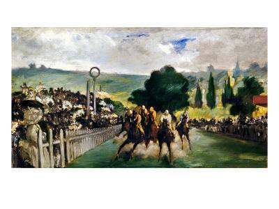 Manet: Longchamps, 1867-Edouard Manet-Giclee Print
