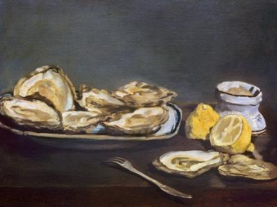 Manet: Oysters, 1862-Edouard Manet-Giclee Print