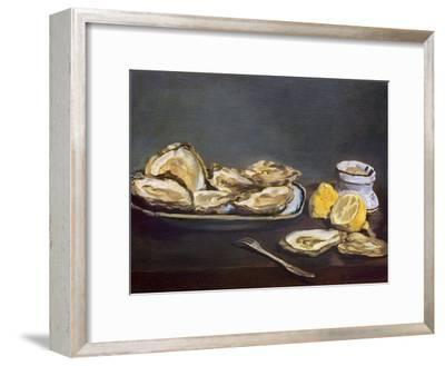 Manet: Oysters, 1862-Edouard Manet-Framed Giclee Print