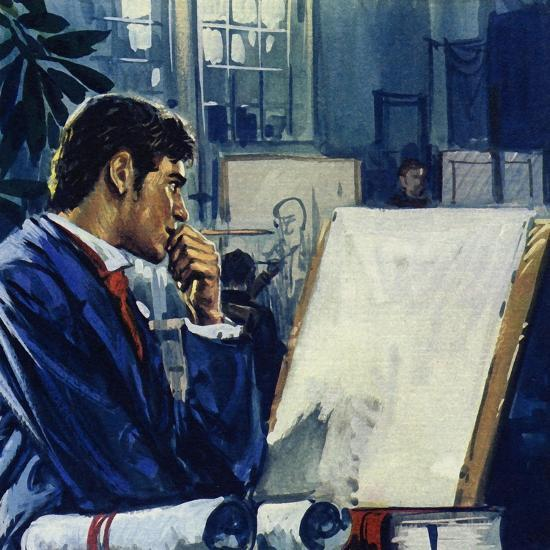 Manet Was Given a Choice by His Father: the Civil Service or the Navy-Luis Arcas Brauner-Giclee Print