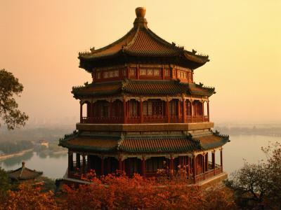 The Temple of Buddhist Virtue at Wanshou San (Longevity Hill) at Yiheyuan (Summer Palace)