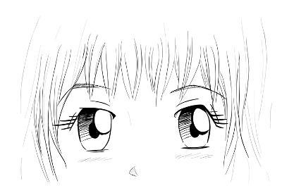 Manga Eyes-yienkeat-Art Print