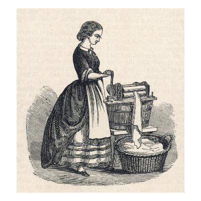 Mangling Machine--Giclee Print