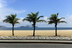 View From The Ipanema Leblon Walkway In Rio De Janeiro, Brazil In A Summer Day by mangostock