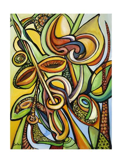 Mangroves (B) 2005-Xavier Cortada-Giclee Print