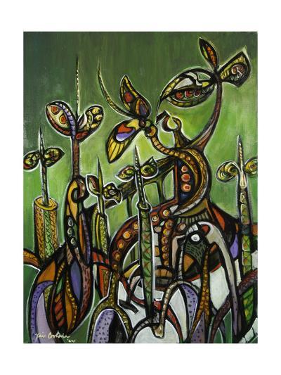 Mangroves (On Green) 2004-Xavier Cortada-Giclee Print