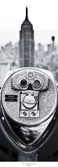 Manhattan- Binoculars-Philip Plisson-Art Print