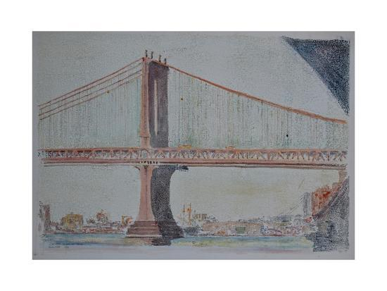 Manhattan Bridge, 1999-Anthony Butera-Giclee Print