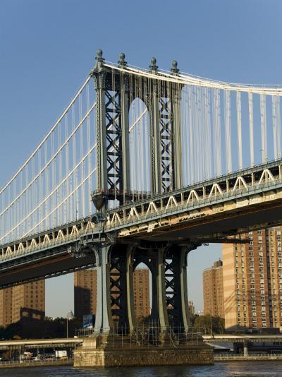 Manhattan Bridge, New York City, New York, USA-R H Productions-Photographic Print
