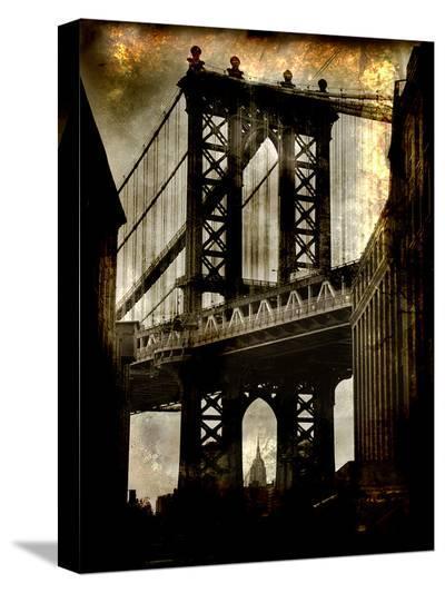 Manhattan Bridge-Dale MacMillan-Stretched Canvas Print