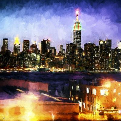 Manhattan Brooklyn-Philippe Hugonnard-Giclee Print