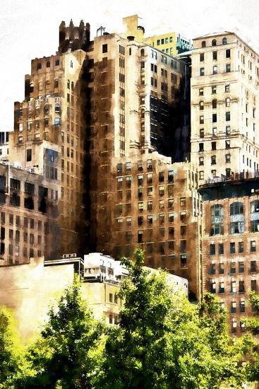 Manhattan Buildings IV-Philippe Hugonnard-Giclee Print
