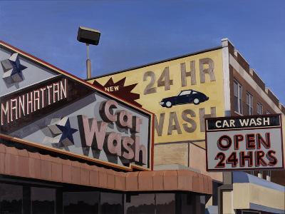 Manhattan Car Wash-Andy Burgess-Giclee Print